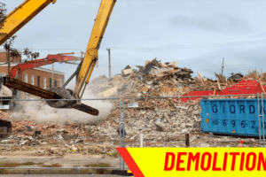 Demolishing 2nd St. Annies, Fairview and More - Wildwood, NJ