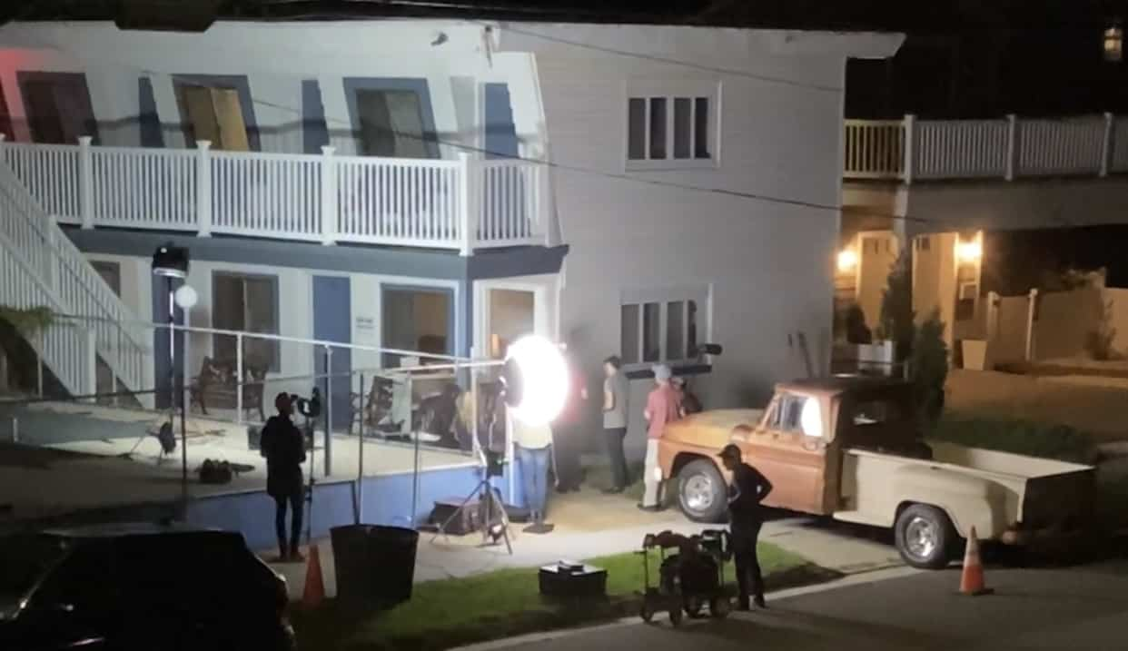 Filming Taking Place in North Wildwood