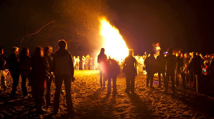 North Wildwood Bonfire on the Beach 2021
